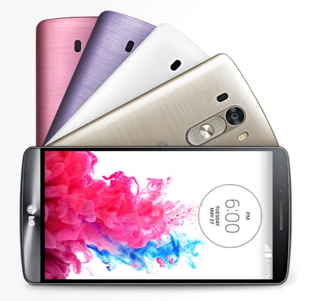 LG G3 the 5.5-inch Quad HD smartphone announced with Android Kitkat and smart features