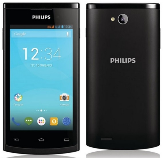 Phillips launched trio of Android smartphone starts from INR 8,290