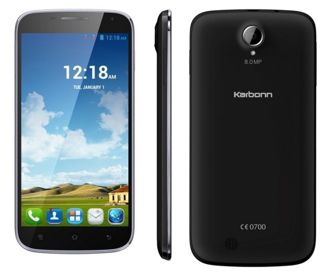 Karbonn Titanium S9 Lite with 5.5-inch display, 512MB RAM, quad core processor launched at INR 8,999