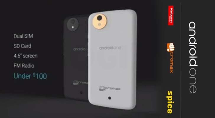 Android One Budget Smartphones By Google Micromax