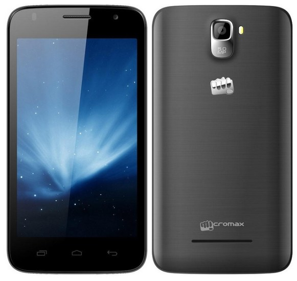 Micromax Canvas A105 with Android Kitkat and quad core processor launched at INR6,999