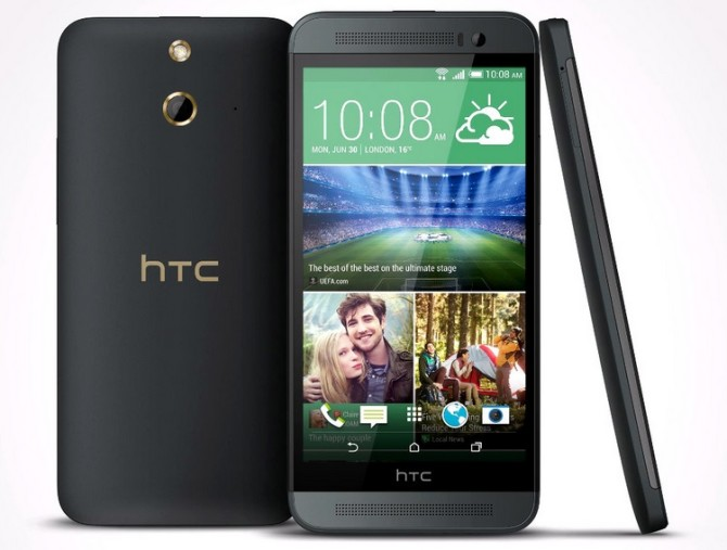 HTC One E8 with quad core processor, 5'' display, 2GB RAM, 13MP camera goes on sale