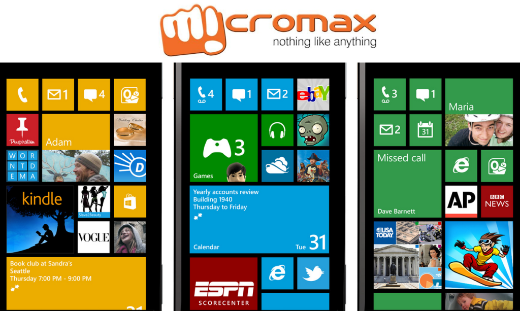 Micromax Windows Mobile Phones