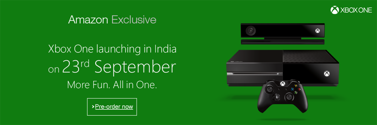 Xbox One India Launch Date