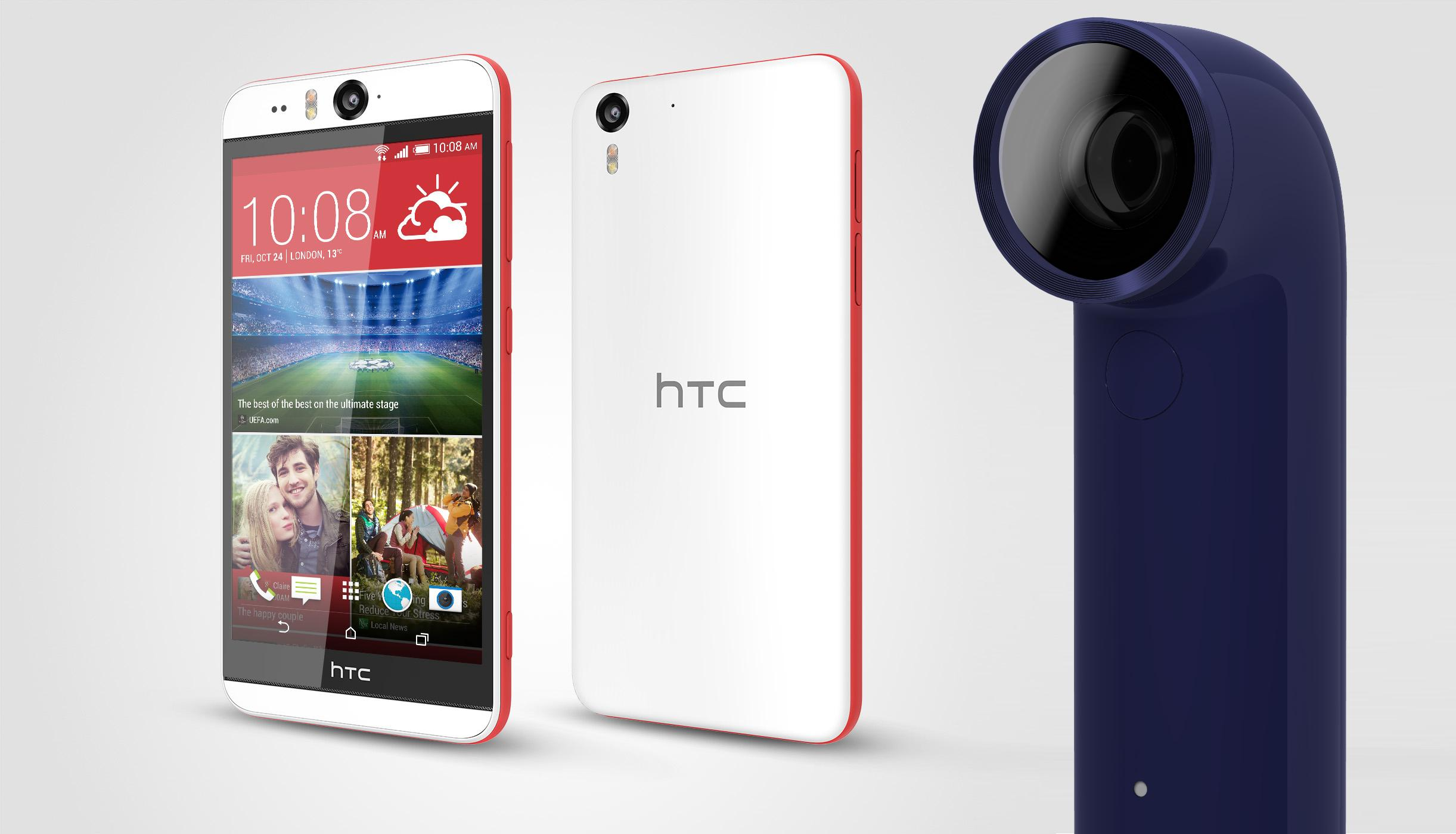 HTC Desire Eye Selfie Phone And HTC RE Camera Overview & Expert Analysis