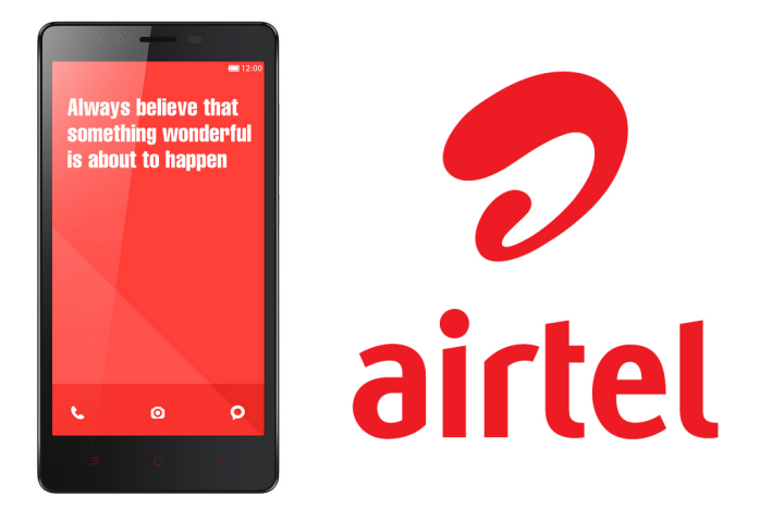 Xiaomi Redmi Note 4G with Airtel India