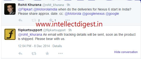 Google Nexus 6 Deliveries Start In India 1