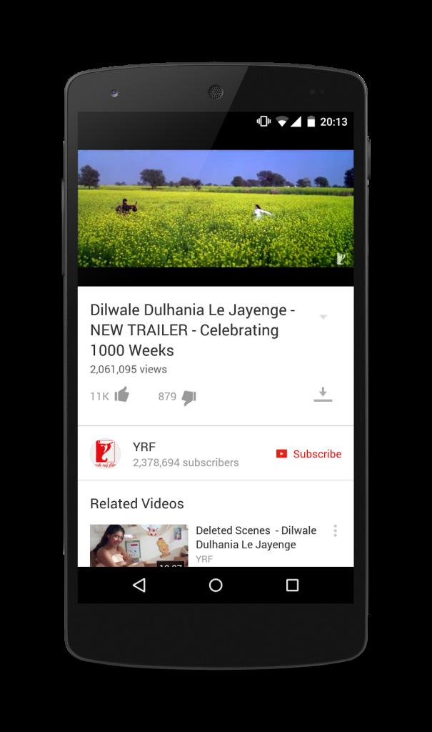 Watch Youtube Offline in India-1