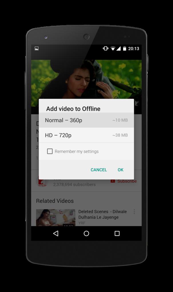 Watch Youtube Offline in India