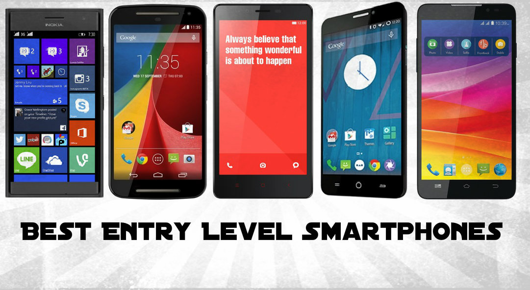 Top Entry Level Smartphones Under Rs. 15000