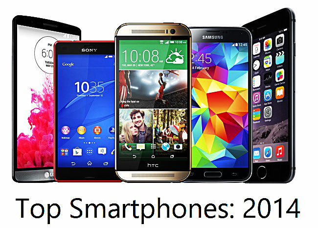 Top High End Smartphone Picks From 2014