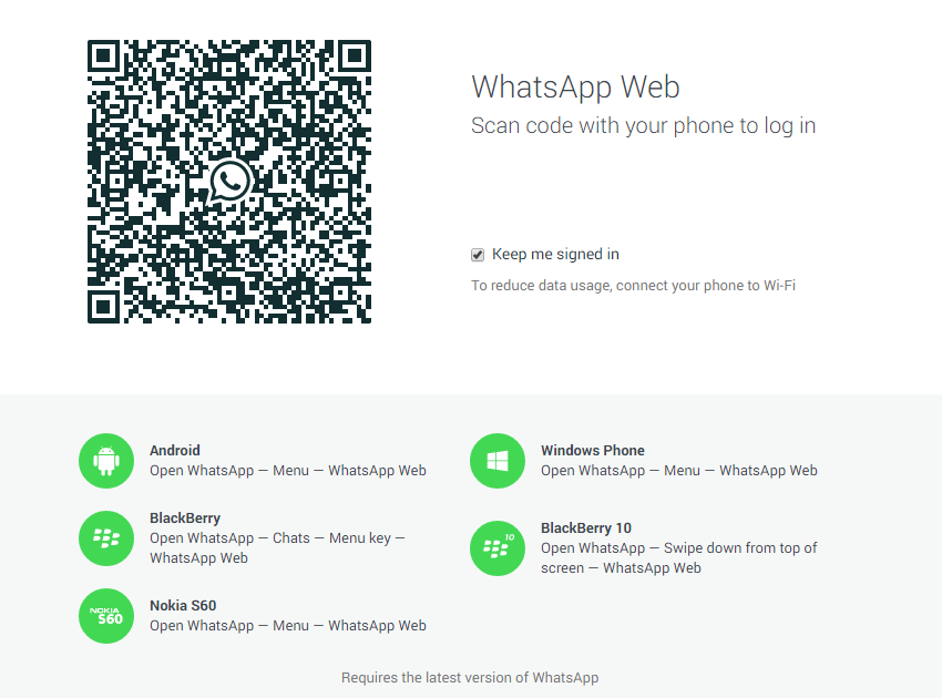 How To Use WhatsApp For Web