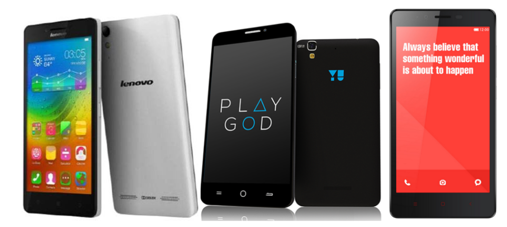 Lenovo A6000 vs Yu Yureka vs Xiaomi Redmi Note 4G