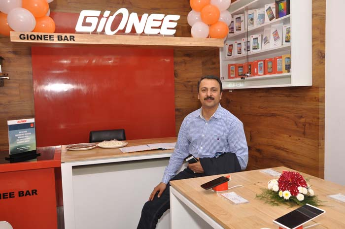 Gionee's First Exclusive Brand Store