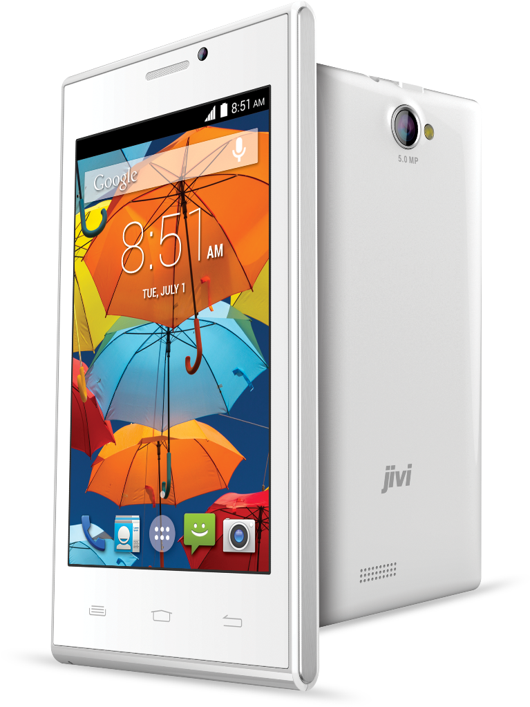 Jivi JSP 38 3D Phone White