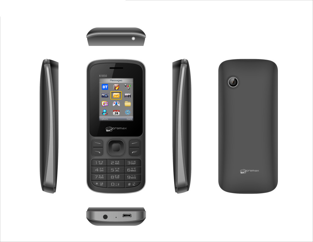 Micromax Joy X1850 ID Black