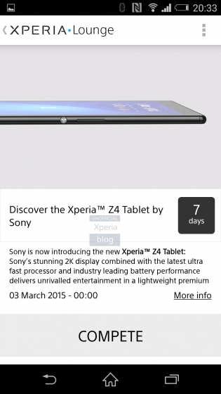 Sony Xperia Z4 tablet-1