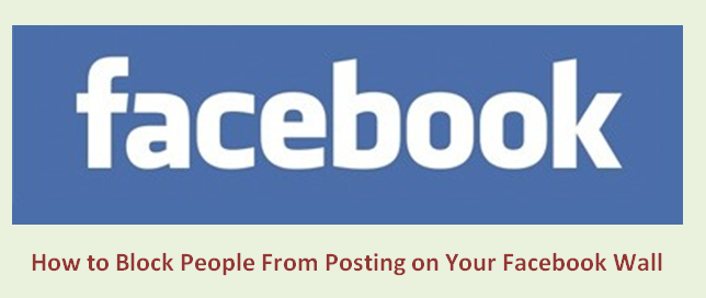 Как запретить людям публиковать сообщения на вашей стене Facebook-3