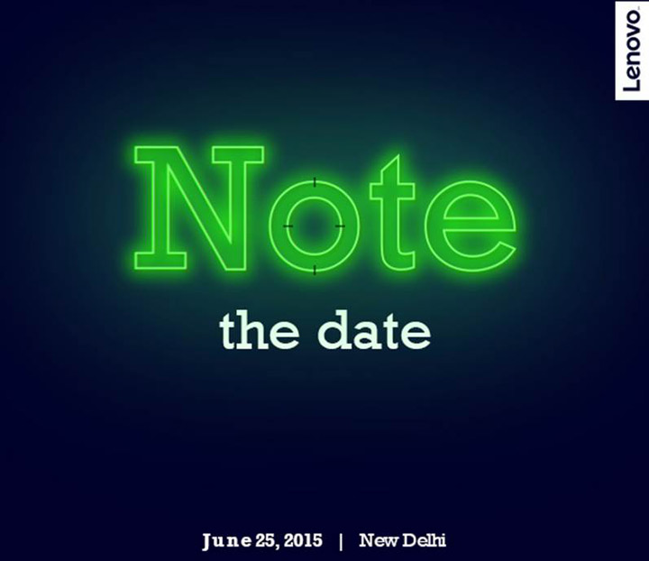 Lenovo K3 Note Launch Invite -1