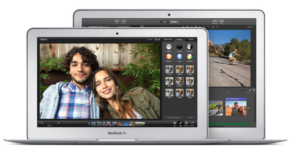 13-inch MacBook Pro With Retina Display & MacBook Air