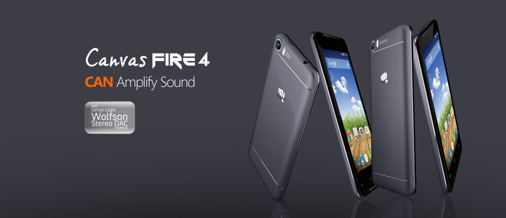Micromax Canvas Fire 4-1