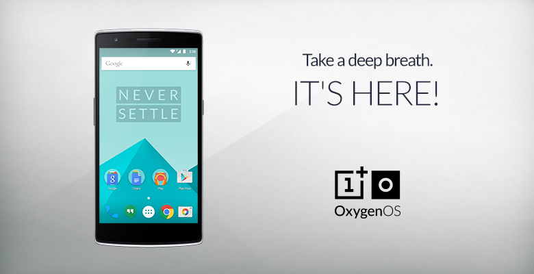 Android Lollipop-Based Oxygen OS