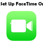 how to set up facetime on macbook