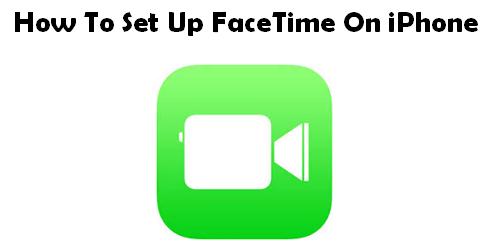 Как настроить FaceTime на iPhone
