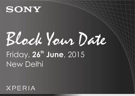 Sony Xperia Z3+ India Launch Invite