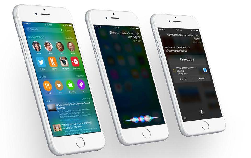 Apple iOS 9 -3