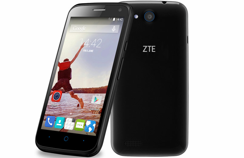 any case, zte blade qlux has one