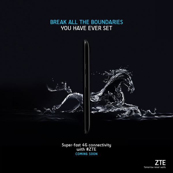 ZTE new smartphone with 4G support