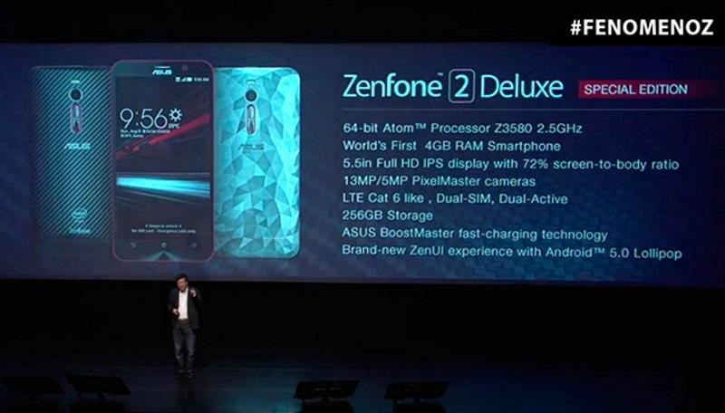 Asus Zenfone 2 Deluxe Special Edition -1
