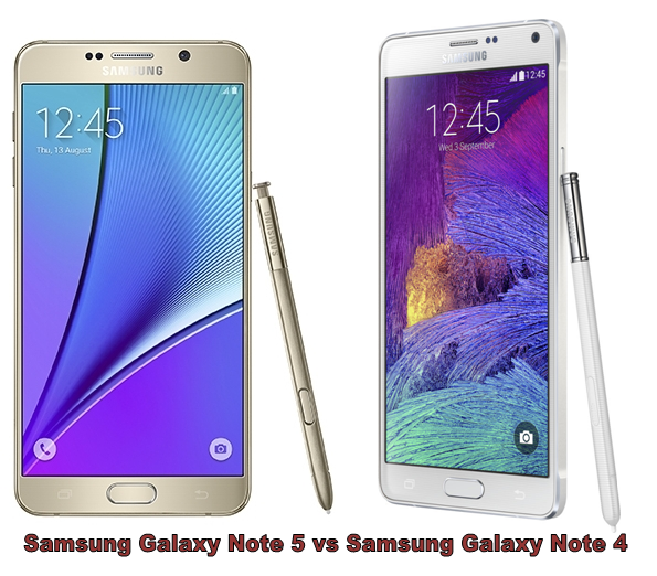 Samsung Galaxy Note 5 vs Galaxy Note 4 -1
