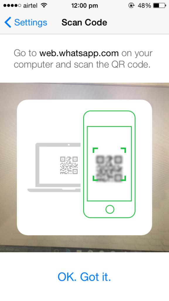 WhatsApp Web для iPhone (1)