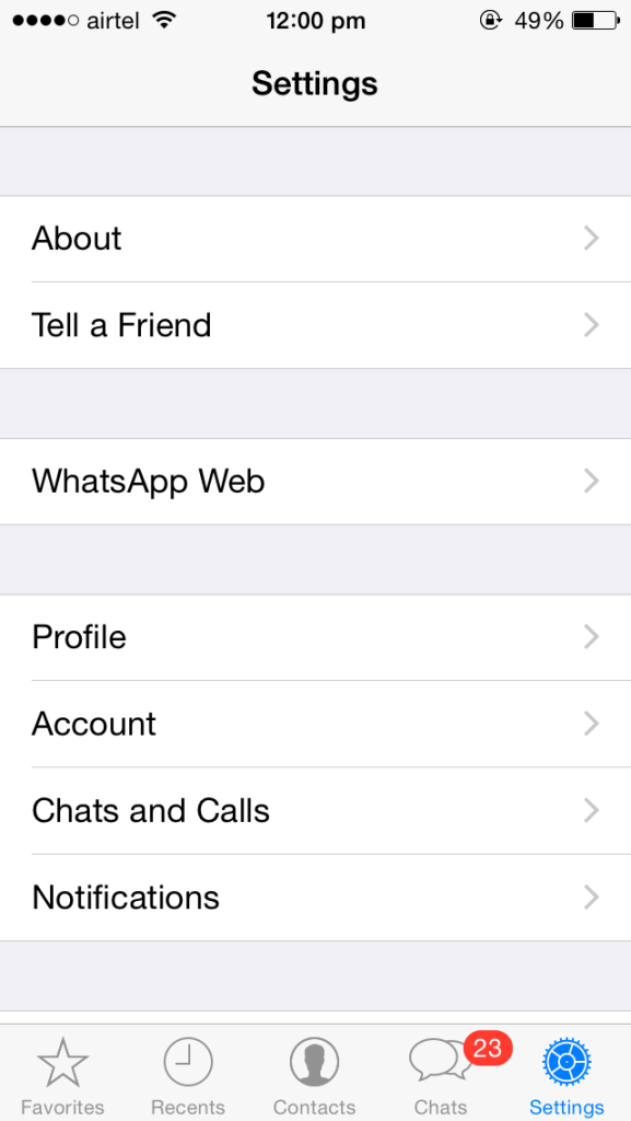 WhatsApp Web For iPhone (2)