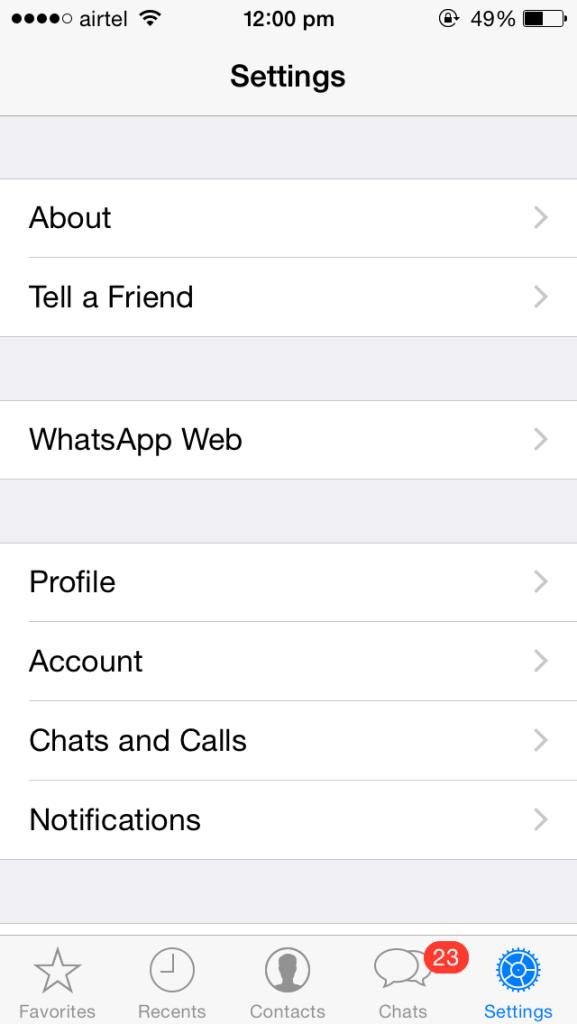 WhatsApp Web для iPhone (2)
