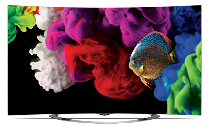 World's First 4K OLED TV