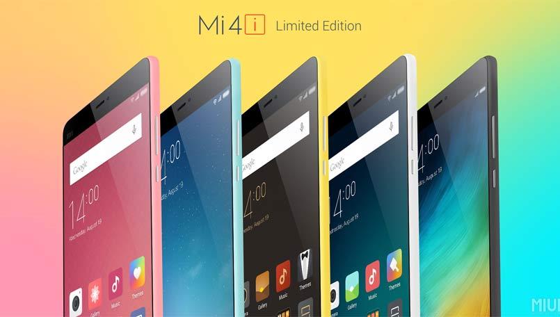 Xiaomi Mi 4i Special Edition