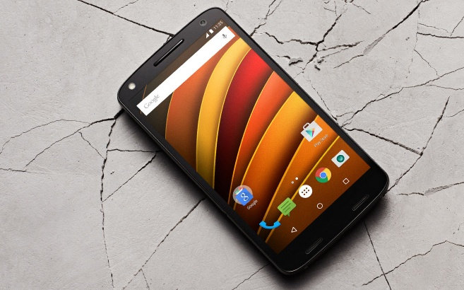 Best looking smartphones under 25000 - Moto X Force
