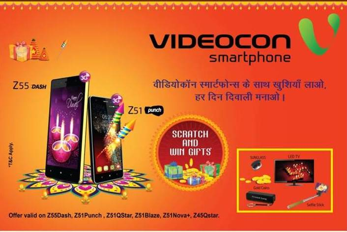 Videocon Mobile Phones exciting offers