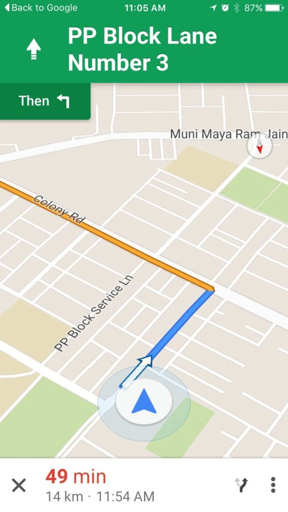 Use Google Maps With Voice Command On iPhone (1)