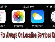 location service on iphone