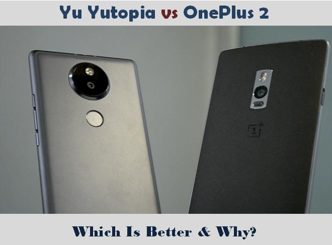 Yu Yutopia vs OnePlus 2
