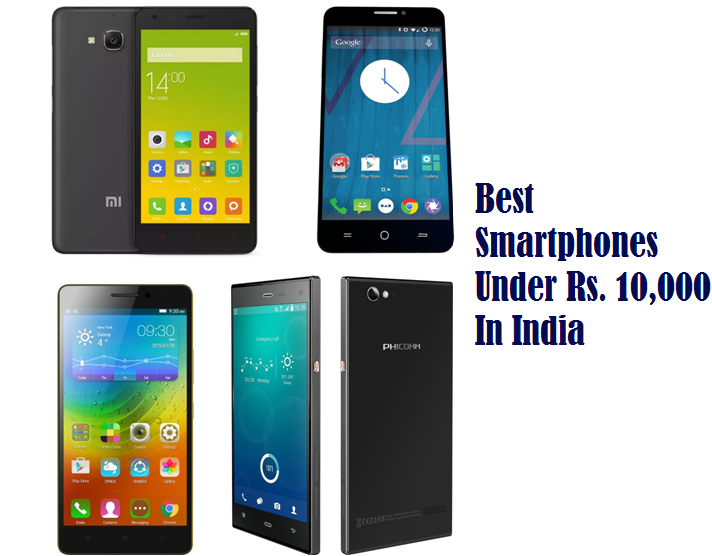 Best mobile phone in india under 10000 rs