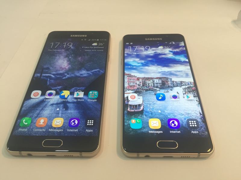 Samsung Galaxy A5 (2016) vs Galaxy A7 (2016) Comparison