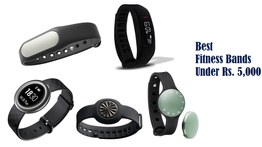 best fitness trackers under rs. 5,000