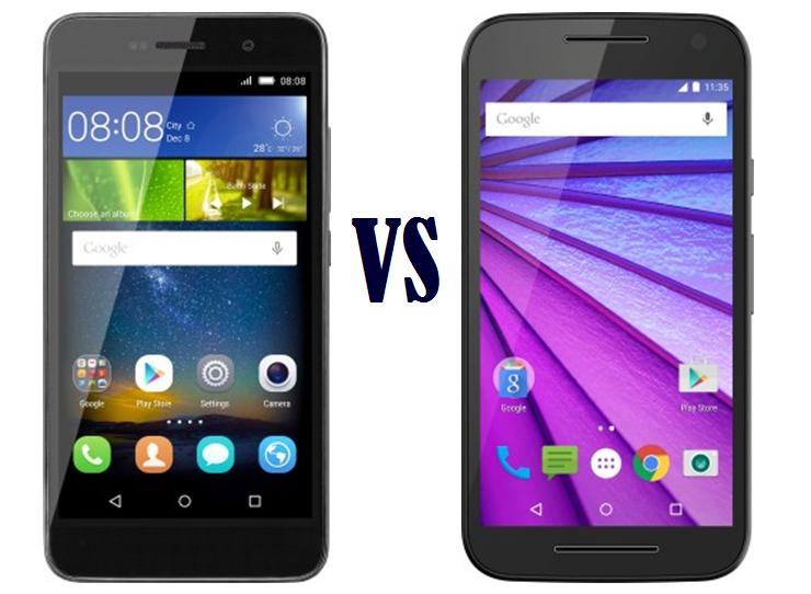 Honor Holly 2 Plus vs Motorola Moto G 3rd Gen Comparison