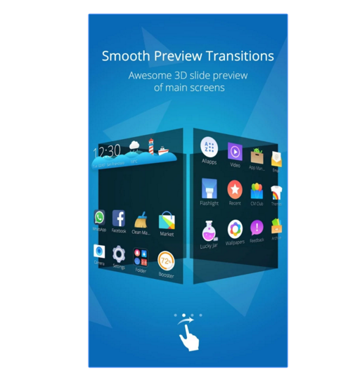 Smooth Preview Transitions