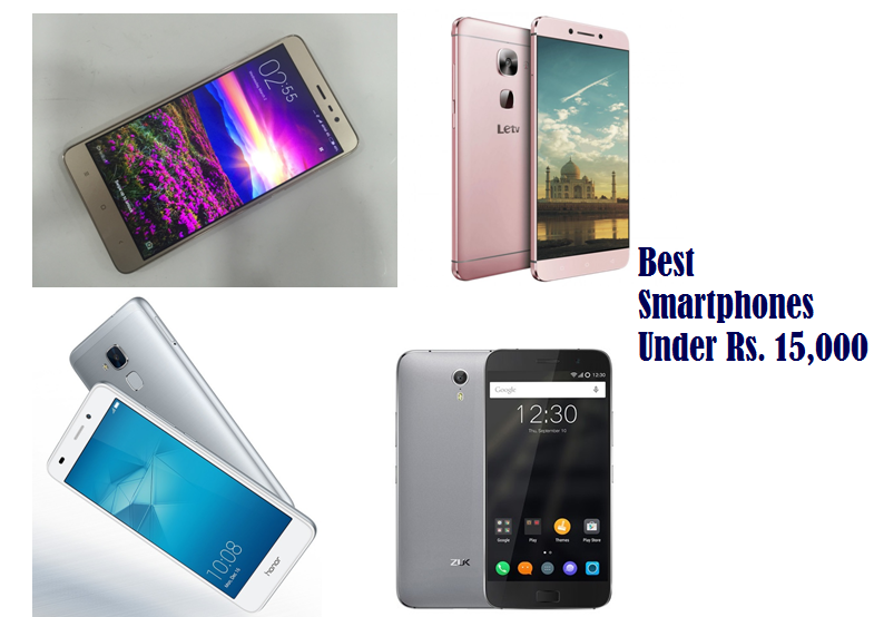 Best smartphones under Rs. 15,000